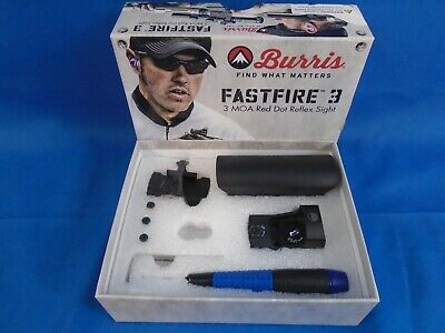 Burris Fastfire 3 - 3 MOA Red Dot Refle Sight with Pinatinny Mount