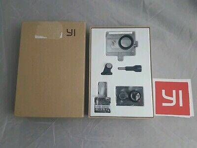 YI! Action Camera with Underwater Case 16MP HD - New - Only Opened