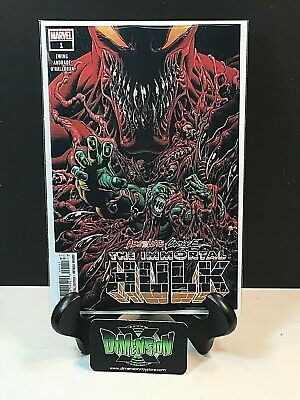 Absolute Carnage The Immortal Hulk #1 Cover A 1St Print Nm Marvel Comics Unread
