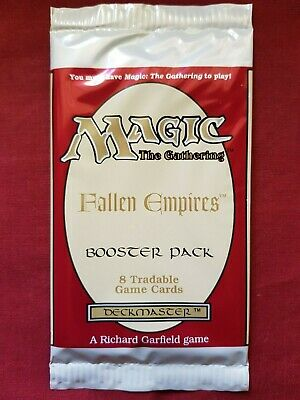 Magic The Gathering FALLEN EMPIRES New Sealed Booster Pack MTG