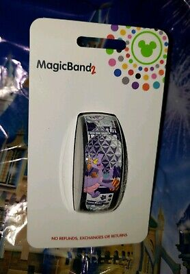 NEW DISNEY EPCOT FIGMENT SPACESHIP EARTH WHITE Magic Band Magicband Parks