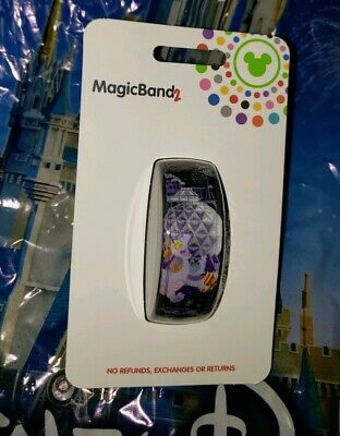 NEW DISNEY EPCOT FIGMENT SPACESHIP EARTH BLACK Magic Band Magicband Parks