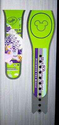 NEW DISNEY EPCOT FIGMENT SPACESHIP EARTH GREEN Magic Band Magicband Parks