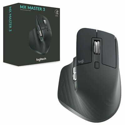 Logitech MX Master 3 Advanced Wireless Mouse Graphite NEW