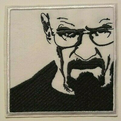 "Breaking Bad~Walter White~Embroidered PATCH~3 5/8"" x 3 5/8""~Iron or Sew On"