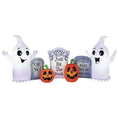 Large 8' Ghost Tombstone Inflatable Weather Resistant Outdoor Lawn Halloween