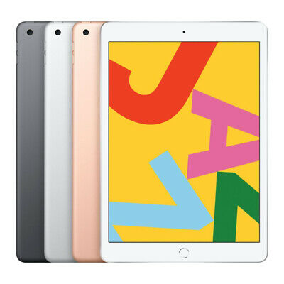 "NEW Apple iPad 2019 10.2"" 32GB Wi-Fi Version ( Space Grey / Gold / Silver )"