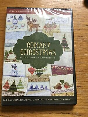Crafters Companion Romany Christmas Papercrafting CD Rom Collection New Sealed