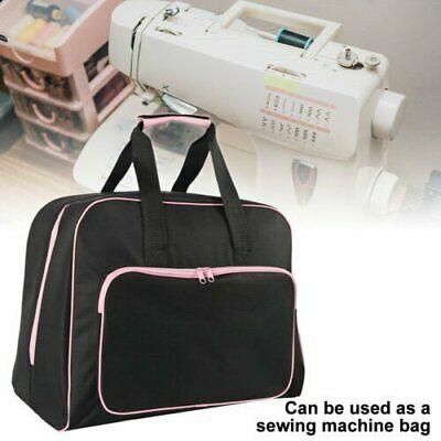 3 Colors Black Padded Sewing Machine Bag / Carry Case with Pocket Craft Storage