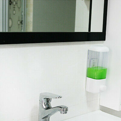 Soap Dispenser Single/double Hand Wash Gel Body Lotion Liquid Pump Wall Mounted
