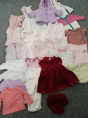 Girls 0-3 Months Large Winter Bundle *Combined Postage*