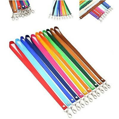 lanyard keychain Neck mobile Phone Strap for ID Card Badge holder Metal Clip
