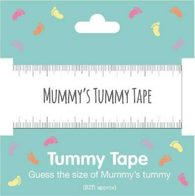 Baby Shower Tummy Tape 82ft Guess The Bump Size Gender Reveal Party Game