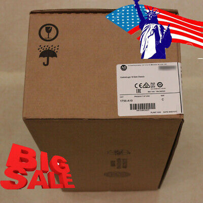 Durable【USA】Allen-Bradley ControlLogix 10Slots Chassis 1756-A10 Fast Shipping CE