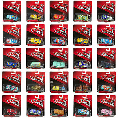 Disney Pixar Cars 3 Die-Cast 1:55 Scale Vehicles by Mattel (Choose a Character)