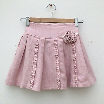 Beautiful Wool Blend Skirt By Sarah Louise. Age 6.