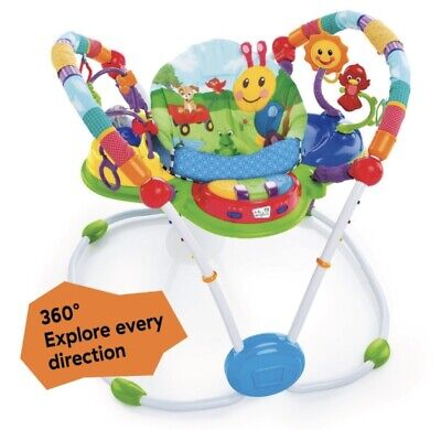 Baby Einstein Neighborhood Friends Activity Jumper Swivel Seat Activity Center