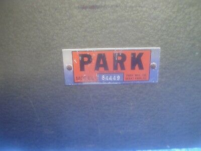 Vintage Park 84449 Tool Box Machinist Collector Very Large Proto Mac Snapon Nice