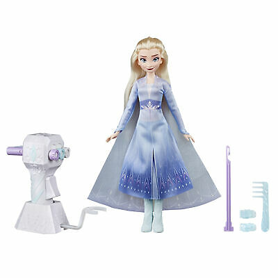 Disney Frozen 2 Sister Styles Elsa Fashion Doll With Braiding Tool and Hair Clip