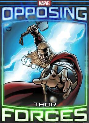 Topps Marvel Collect Thor vs. Hela Opposing Forces Marathon [DIGITAL TILT CARD]