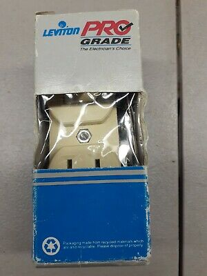 Leviton 5225-ISP Combination Light Switch & Outlet, Ivory Electrical Supply