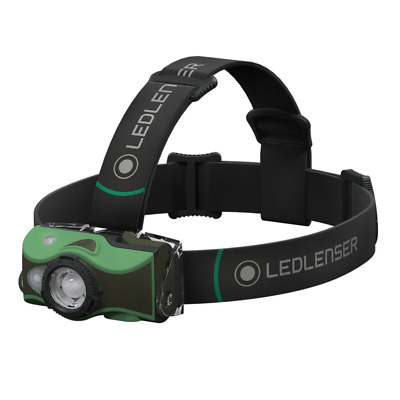 Led Lenser MH8 Rechargeable Headlamp 600 Lumens - Outdoor Series - Green