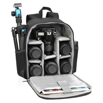 Professional Camera Backpack Bag Case Waterproof with Modular Inserts