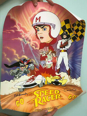 Limited Edition Go Speed Racer Go II 2000 Poster Signed Fernandez & Orr US$325