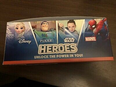 Sainsburys Heroes Cards full Box 180 Packs Disney Marvel 720 Cards