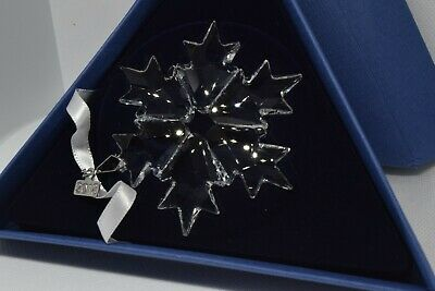 2018 Swarovski Crystal Annual Edition Snowflake Christmas Ornament 3 available
