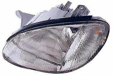 HY2502117 Fits 1999-2001 Hyundai Sonata Driver Side Headlight Bulbs Incl.