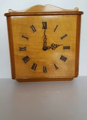 Smiths Wall Clock  Spares Or Repairs