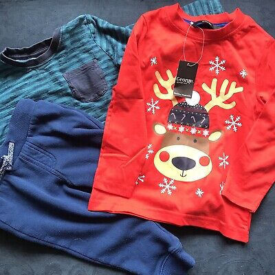 18/24 Months Bundle George VGC Christmas T-shirt Top Bargain Price