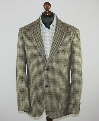 United Colors of Benetton mens wool blazer jacket Size 52
