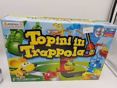 Mouse Trap Board Game - The Crazy Game PLEASE NOTE THIS ITALIAN VERSION