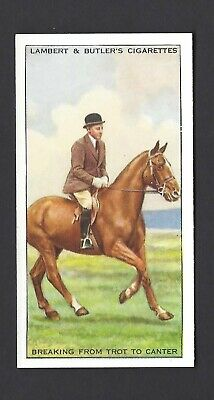 Lambert & Butler - Horsemanship - #15 Breaking From Trot To Canter