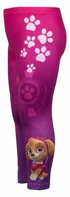 Paw Patrol Girls leggings  colours  pink - purple