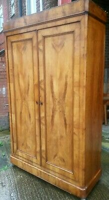 antique fruit wood large  wardrobe UK delivery available