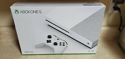 Microsoft Xbox One S 1TB 1 TB Console - White - Console Only - Free Shipping-