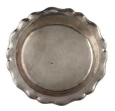 18th Century Signed P. BLAYE Spanish Colonial Silver Dish
