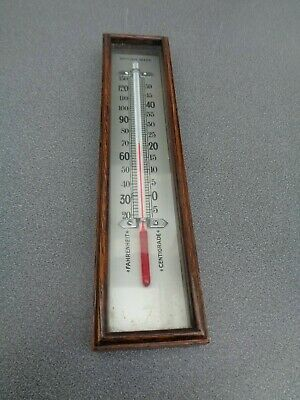 Aneroid Barometer Box Thermometer 213 Mm Long Parts Spares