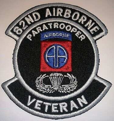 "US ARMY COLOR 325TH AIRBORNE VETERAN PATCH 4/"" NEW B328"