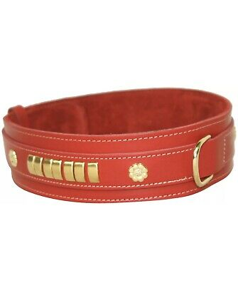 "BBD Mastiff Collar Red 2.5"" X 28"""
