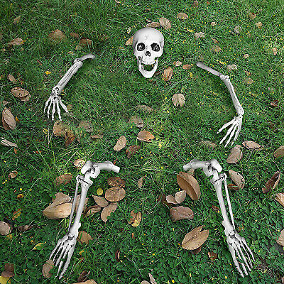 Halloween Decorations Creepy Scary Groundbreaker Skeleton Outdoor Yard Decor