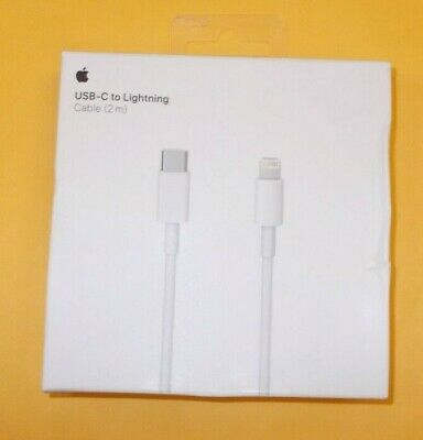 Genuine Apple USB Type C to Lightning Cable Data Cable Adapter (2 meter)  MKQ42A