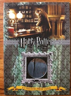 Authentic Prop Card Harry Potter Slughorns Office Wall Covering 97/330