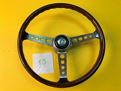 F.I.V. Secura Morris Mini & Others Wood Steering Wheel NOS Rare
