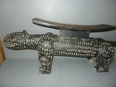 Bobo Fing Shrine Priest Magnificent King Stool #African tribal art Burkina