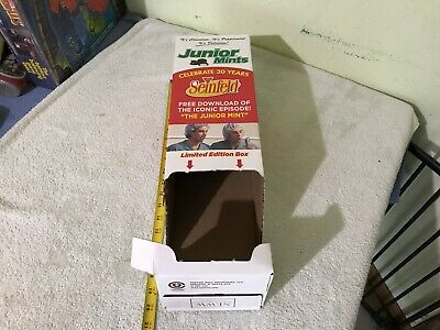 Display Box for the Seinfeld Junior Mints Limited Edition 2019 candy