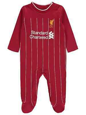Baby boys Official Liverpool FC  Sleepsuit 100% Cotton 0-12 Months